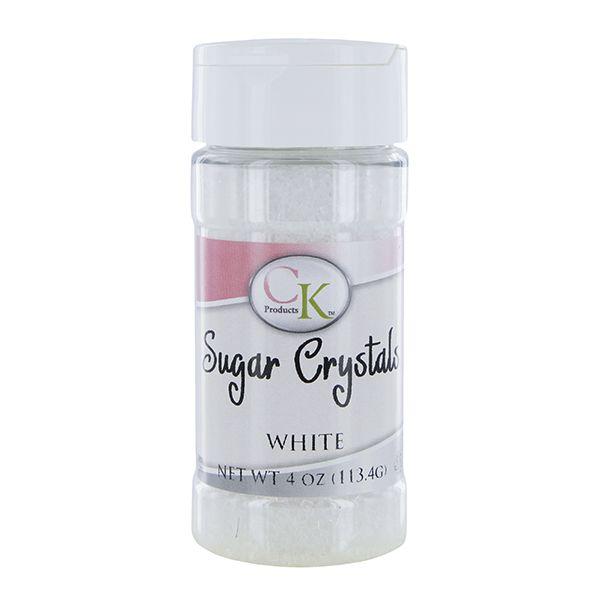 Coarse Sugar / Sugar Crystals White 4 Ounces by CK Coarse Sugars & Sanding Sugars