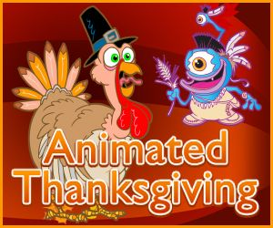 AnimatedThanksgiving.com Here you can find fun Thanksgiving games, awesome Thanksgiving stories to read with your kids, Thanksgiving tips and some teacher activities for your students and classroom.