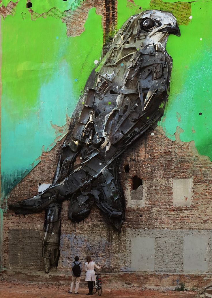 Bordalo (2015) - Łódź (Poland)