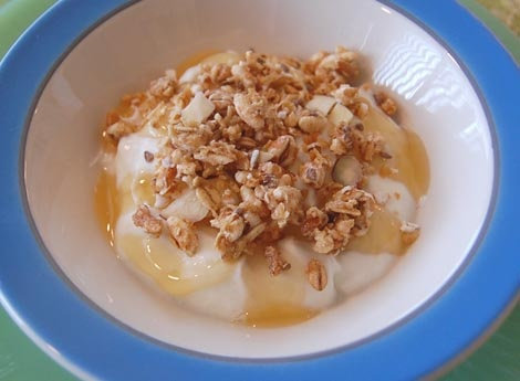 Make Your Own Homemade Greek Yogurt - I love Greek Yogurt and already like to make regular yogurt from scratch - a new recipe to try.  http://www.happysimpleliving.com/2011/03/06/make-your-own-homemade-greek-yogurt/