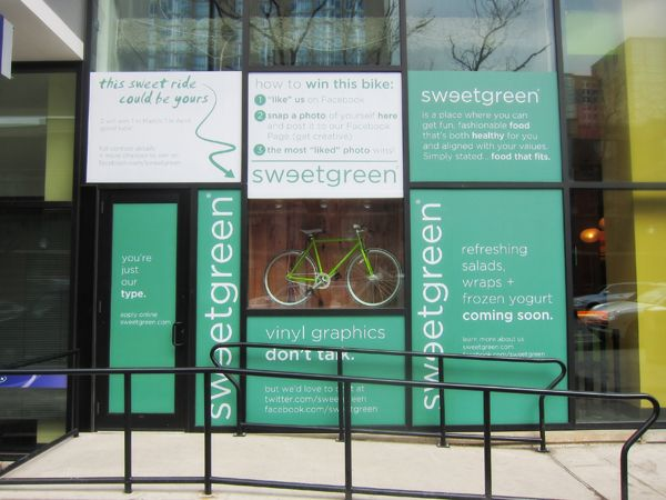 Sweet Green - Philadelphia, PA/ love going here to get a salad.