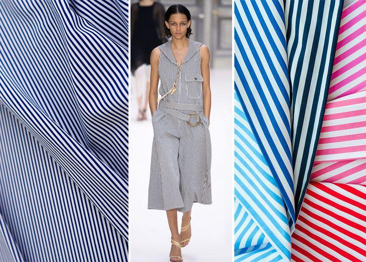 Ткань в полоску - летние костюмы, сарафаны, шорты и рубашки, юбки и платья из поплина, коттона, льна и штапеля