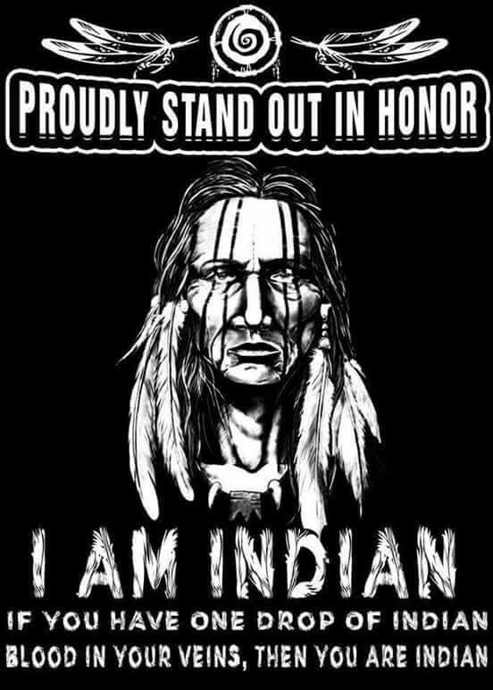 20% of my dna is Native of the Apache tribe.