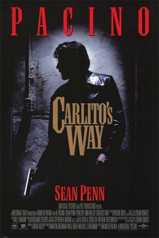Carlito's Way Movie Poster (1993)