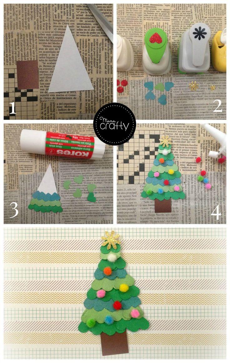 221 best mara crafty images on pinterest yule for Decoraciones de papel