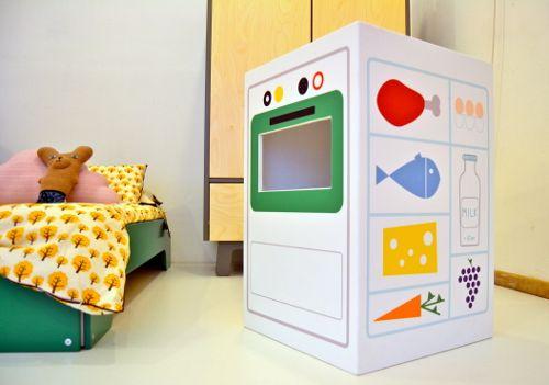 Pipedo cucinetta per bambini by Maria Piovano via designperbambini.it