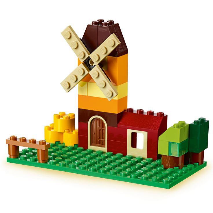 Classic lego instructions 10695 lego creative building for Lego classic house instructions