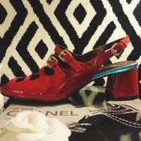 Sandália Vermelha Tiras - Botti