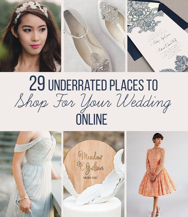 And for when you actually start shopping: | 17 Useful Wedding Cheat Sheets For Any Bride-To-Be
