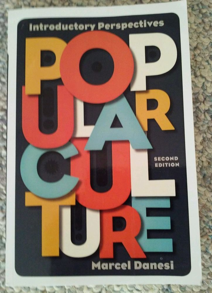 Popular Culture : Introductory Perspectives by Marcel Danesi (2012, Paperback)