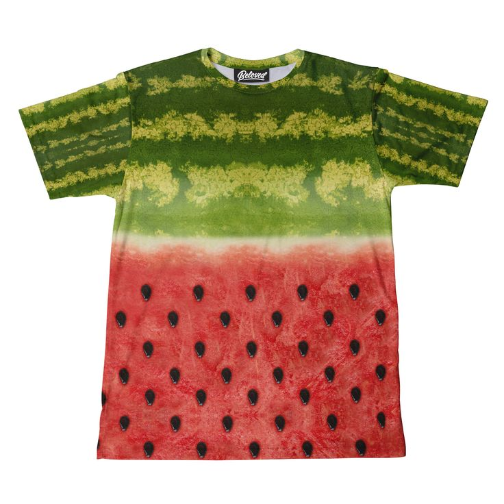 Beloved Shirts presents the Vivid Watermelon Men's Tee