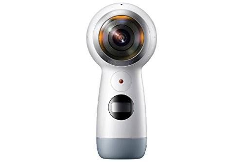 cool Samsung Gear 360 (2017 Edition) Real 360° 4K VR Camera (US Version with Warranty)