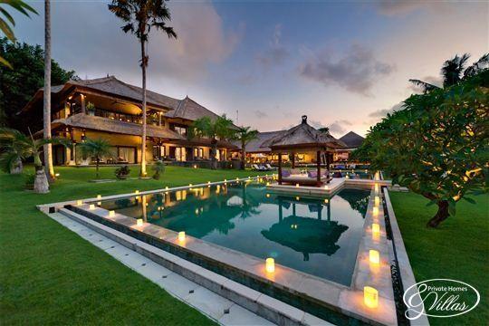 Pool and Bale at The Chalina Estate in Canggu, Bali