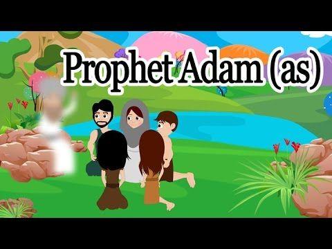 Adam AS - [Prophet story ( No Music)] - Islamic Cartoon