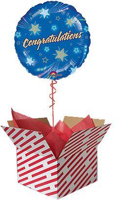 Shooting Stars Congratulations Balloon