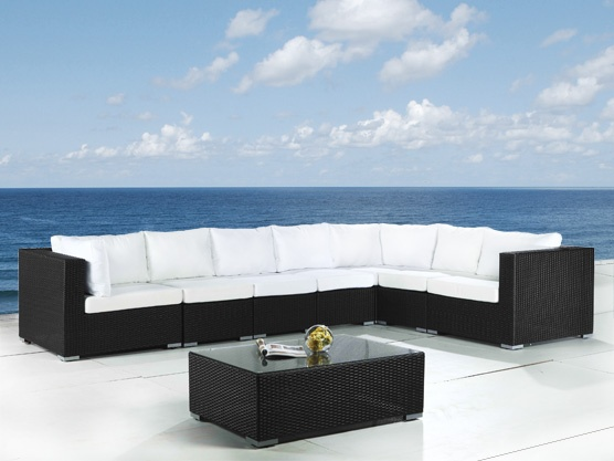 ber ideen zu gartenlounge rattan auf pinterest. Black Bedroom Furniture Sets. Home Design Ideas