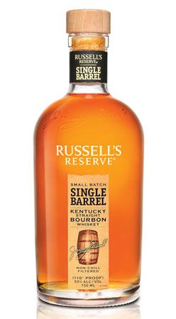 Russell's Reserve Single Barrel Bourbon. 49 more gift ideas for #FathersDay: http://www.menshealth.com/best-life/fathers-day-gifts?cm_mmc=Pinterest-_-MensHealth-_-Content-BL-_-FathersDayGifts