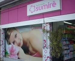 Sinalização de Vitrines lojas Sumiré