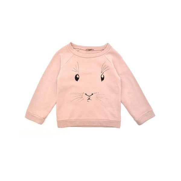 Pink rabbit sweater E&I