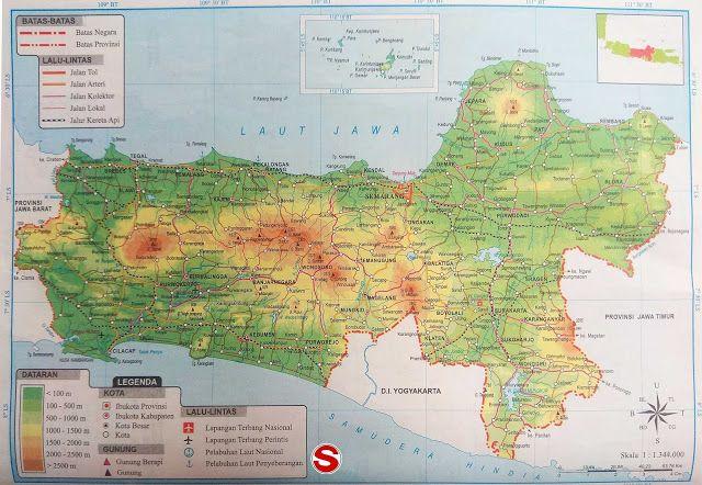 Peta Jawa Tengah Seperti Yang Kita Ketahui Indonesia Ialah Negara Yang Berbentuk Kepulauan Salah Satu Pulau Yang Padat Pendudukny Peta Peta Dunia Kepulauan