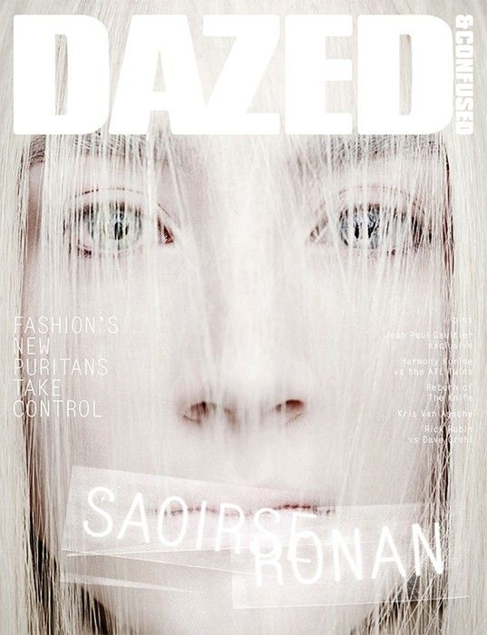 Issue: Saoirse Ronan Location: London Model: Saoirse Ronan Photography: Rankin Styling: Cathy Edwards Creative Direction: Jefferson Hack Website: www.dazeddigital.com