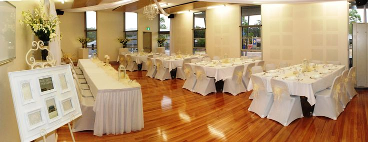 Panorama View of an Intimate Wedding Reception Setup that we had styled & decorated.