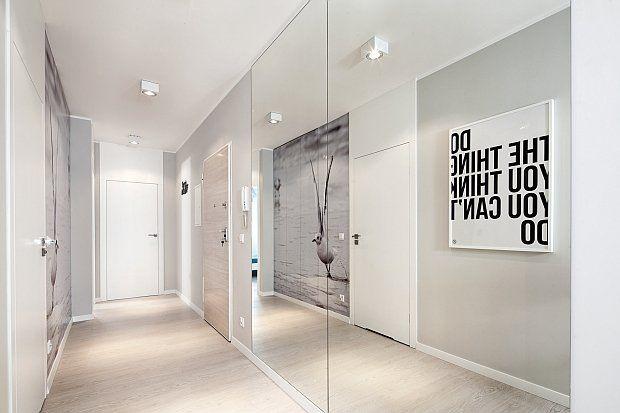 Mieszkanie pokazowe w Gdyni - 89 m2, projekt: Anna Maria Sokołowska z Pracowni Projektowej Dragon Art i Marta Piątkowska ze studia 111. - zd...