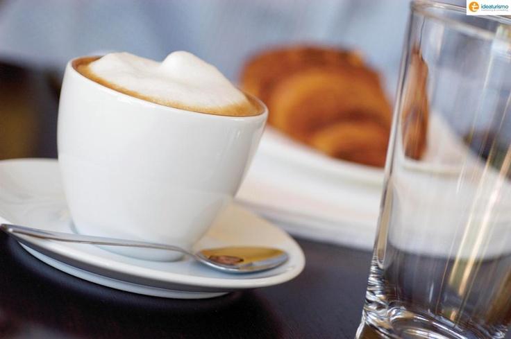 #cibo #mangiare #colazione #caffe #cornetto