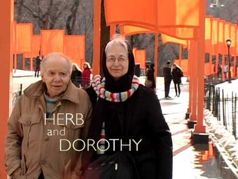 Herb and Dorothy - Art collector
