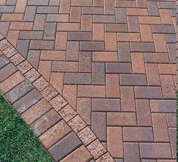 Brick Paver Patterns2. Clay PaversPaver PatternsWalkwaysBricks