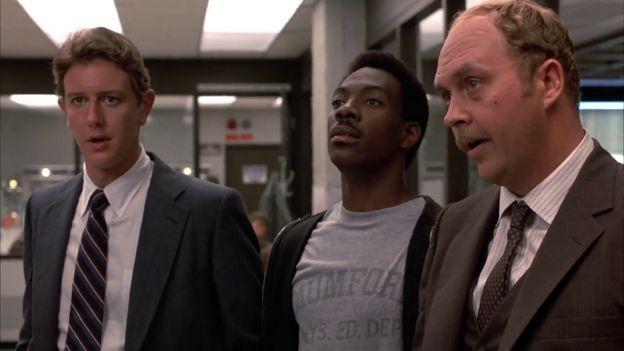 Belvery Hills Cop -  1984: Comedy, ActionStarring: Eddie Murphy, Judge Reinhold, John Ashton...  Bruckheimer Productions / Paramount Pictures