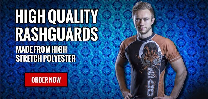 High Quality Rash guards And Fight Shorts 40€