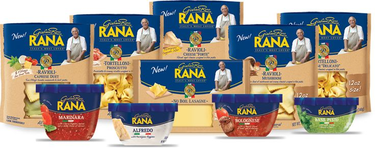 Save up to $2.00 on Giovanni Rana Pasta or Sauce!