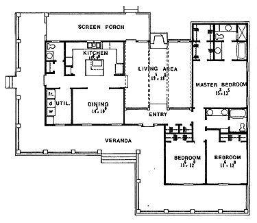 House Plans together with Four Bedroom House Plans 8 Hot Home Plans With 4 Bedrooms also House Plans additionally MWU0N Cabin Plans Under 1000 Square Feet furthermore Ranch House Plans From 1300 To 1400 Sq Ft. on 1 bedroom house plans with wrap around deck