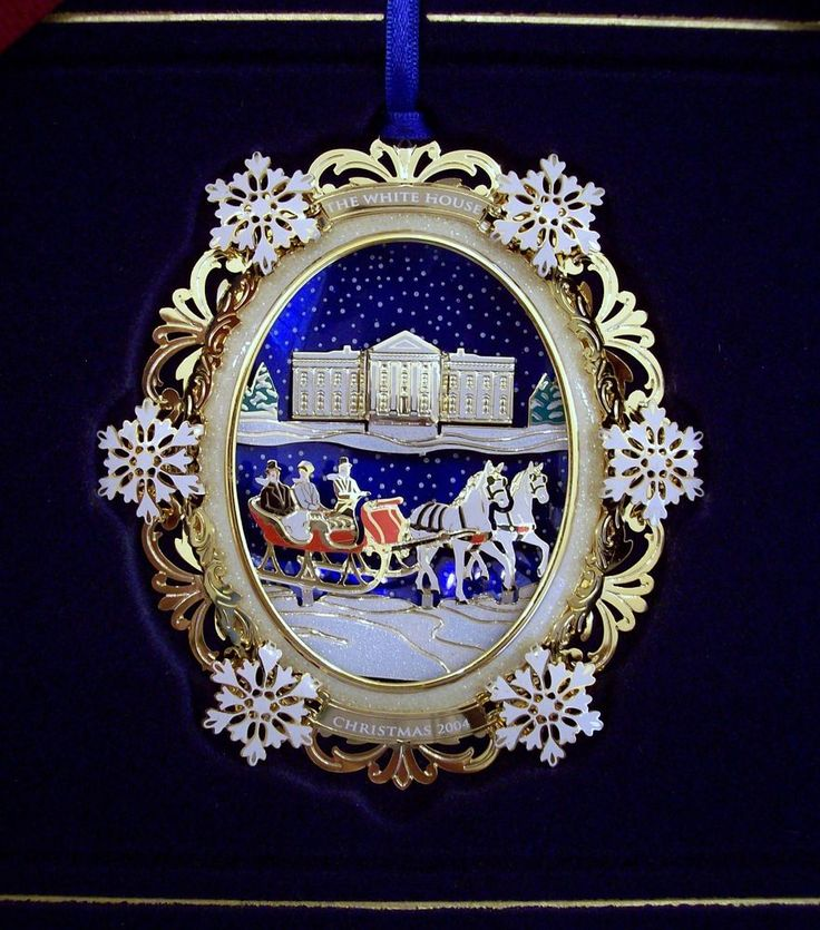 2004 christmas ornament the white house historical association hayes