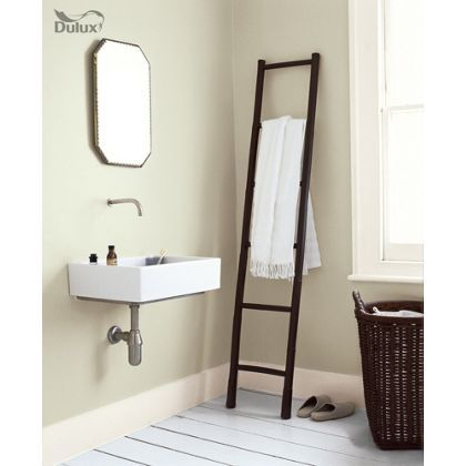Dulux Bathroom Apple White - Soft Sheen Emulsion Paint - 2.5L at Homebase -- Be inspired and make your house a home. Buy now.