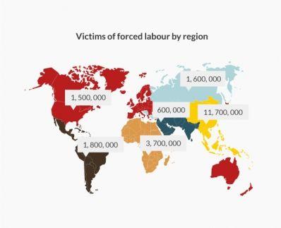 2.12.2015 – Op 2 december wil de VN de aandacht vestigen op de verschillende vormen van slavernij die vandaag nog steeds bestaan, zoals mensenhandel, seksuele uitbuiting en kinderarbeid. Volgens de Internationale Arbeidsorganisatie (ILO) zijn