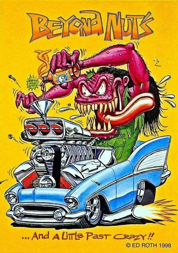 342 Best Rat Fink Images On Pinterest Model Car And Cartoon