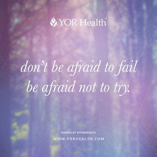 YOR Health - Be Fearless