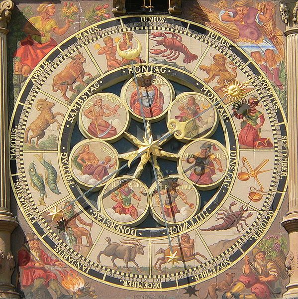 Astronomical clock City Hall Heilbronn - Germany