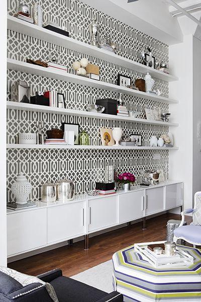 long small shelves