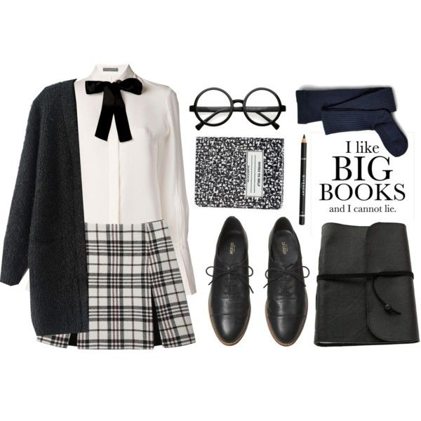 School uniform by hungry-unicorn on Polyvore featuring polyvore fashion style Alexander McQueen Carven Sperry Top-Sider Givenchy Kate Spade Kate Spade Saturday