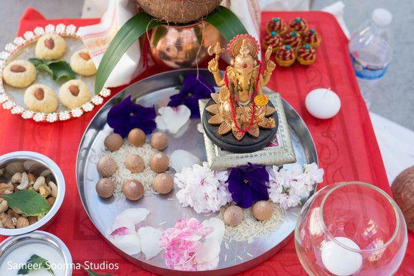 Indian wedding ceremony  details.
