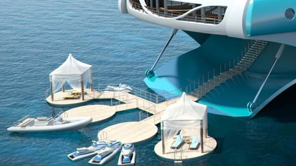 Marvelous Tropical Island Yacht for New Level of Luxury : Tropical Island Yacht 121