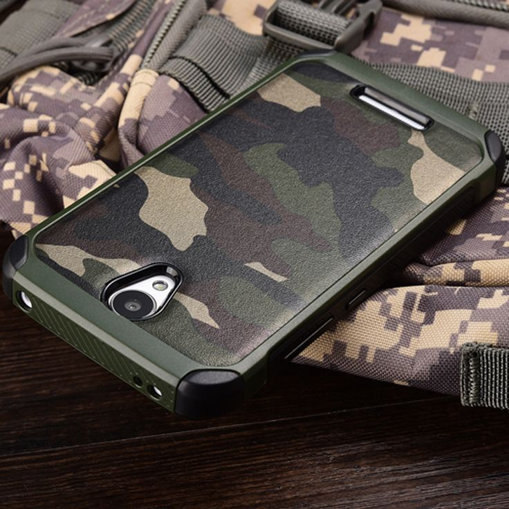 New Army Camo Camouflage Pattern back cover Hard Plastic TPU Armor Anti-knock protective case For Xiaomi Redmi Note 2 3 4 Pro