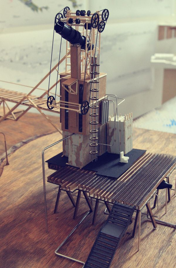 RETROFITTING THE AMERICAN DREAM | Artur Nesterenko Alexandrovich | Archinect: American Dream, Architectural Models, A Models, Model Americandream, Dreams, Architecture Models