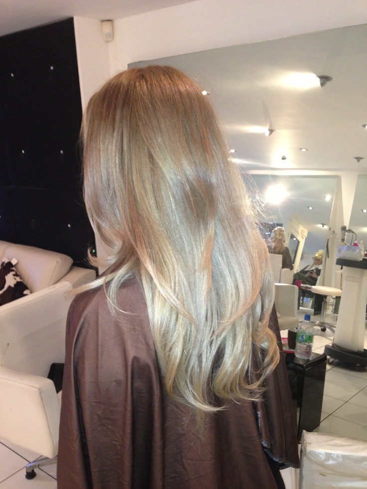 Ombré Hair Courtesy Of Dawn Bell Odb Hairdressers In Headingley Leeds X