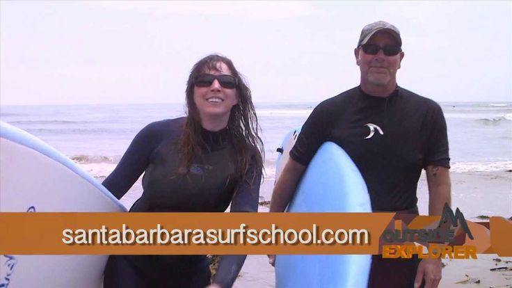 The travel adventure TV show Outside Explorer visits Santa Barbara, California to learn to surf. This family friendly trip will get you up on your long board and into an ocean of adventure. Surfs up at the Santa Barbara Surf School!  http://www.santabarbarasurfschool.com/  If you are looking for travel destination inspiration, we are here to help! Outside Explorer airs on Root Sports Sunday mornings at 8:30   Find our fan page on Facebook @Vivian Dony Ballew Explorer  Enjoy