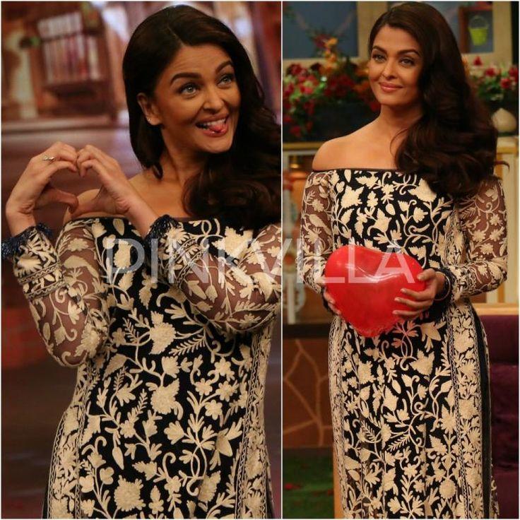 Lookit! Aishwarya's Ae 'Dil' Hai Mushkil moment at The Kapil Sharma Show will win hearts   PINKVILLA