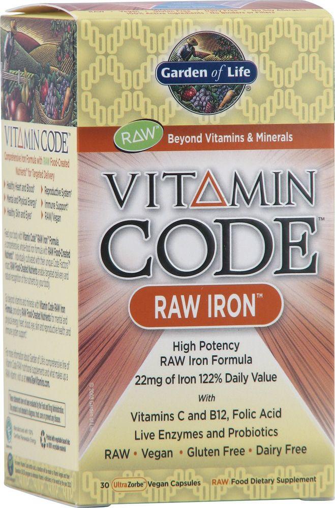 Garden of Life Vitamin Code® RAW Iron™